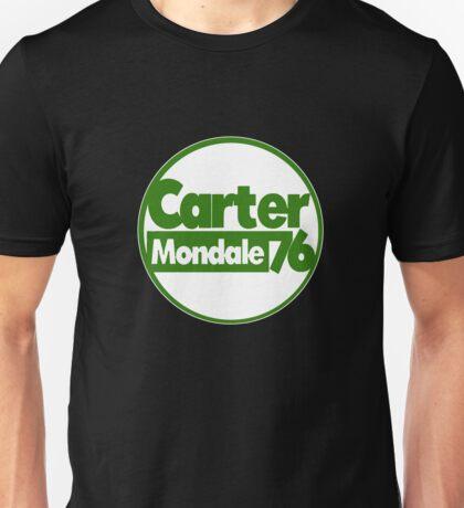 Carter Mondale 1976 Presidential Campaign Button Unisex T-Shirt