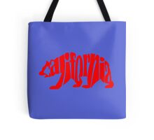 red california bear Tote Bag