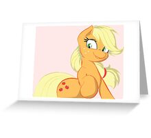 Applejack - My Little Pony FIM Greeting Card