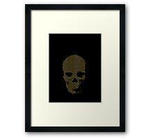 Takiawaze skull Framed Print