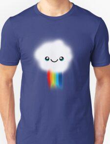 Happy Kawaii Rainbow Cloud Unisex T-Shirt