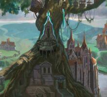 Palm Kingdoms III - Fortress Castle Sticker
