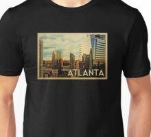 Atlanta Vintage Travel T-shirt Unisex T-Shirt