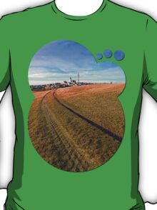 On the way to the village center | landscape photography T-Shirt