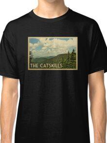 Catskills Vintage Travel T-shirt Classic T-Shirt