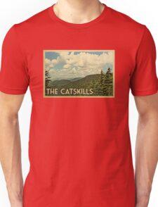 Catskills Vintage Travel T-shirt Unisex T-Shirt