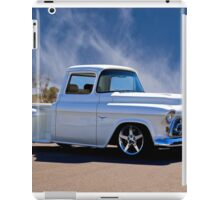1956 Chevrolet Custom Pickup 6 iPad Case/Skin