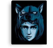 Arya and the Hound Canvas Print