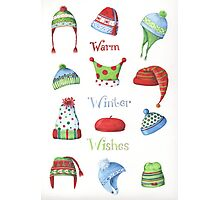 Warm winter hats Photographic Print