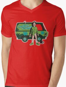 The Meth Machine Mens V-Neck T-Shirt