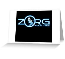ZORG Industries Greeting Card