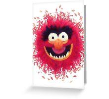Muppets - Animal Greeting Card