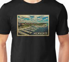Milwaukee Vintage Travel T-shirt Unisex T-Shirt