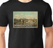 Minneapolis Vintage Travel T-shirt Unisex T-Shirt