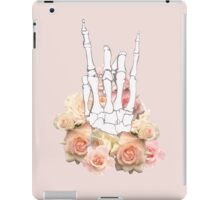 Skeleton hand and Roses iPad Case/Skin