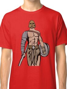 Armed gladiator Classic T-Shirt
