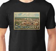 Montgomery Vintage Travel T-shirt Unisex T-Shirt