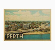 Perth Vintage Travel T-shirt Kids Tee