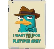 Perry's Army iPad Case/Skin