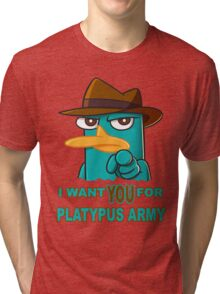 Perry's Army Tri-blend T-Shirt