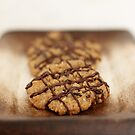 Nutty Drizzle Cookies by Tracy Friesen