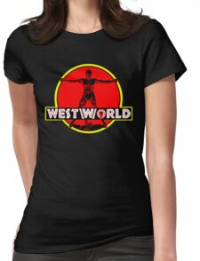 Westworld Park Womens Fitted T-Shirt
