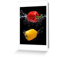 Pepper Splash Greeting Card
