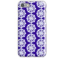 Snowflake Pattern 5 iPhone Case/Skin