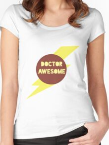 Dr Awesome Women's Fitted Scoop T-Shirt