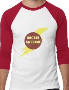Dr Awesome Men's Baseball ¾ T-Shirt