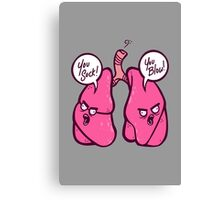 Angry Lungs Canvas Print