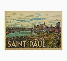 Saint Paul Vintage Travel T-shirt One Piece - Short Sleeve