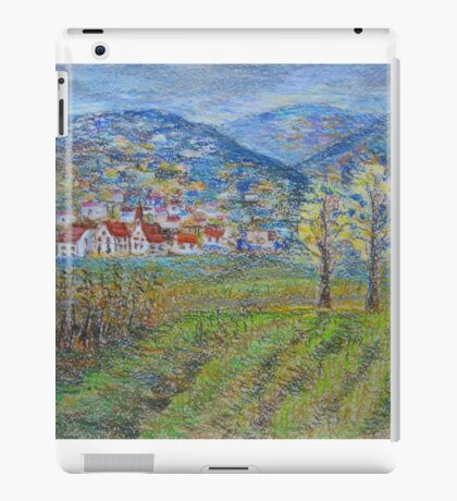 November landscape iPad Case/Skin