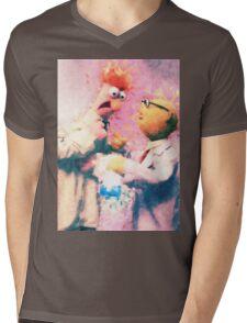 Beaker & Bunsen Mens V-Neck T-Shirt