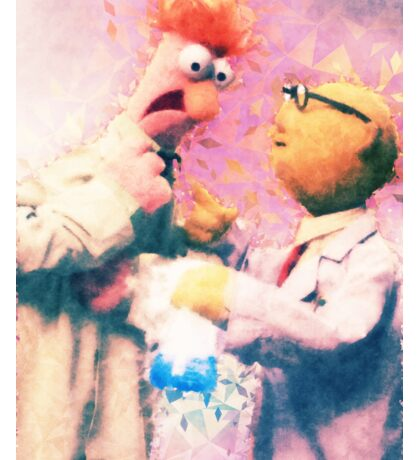 Beaker & Bunsen Sticker