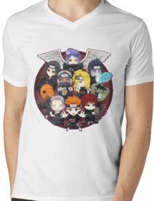 AKATSUKI CHIBI Mens V-Neck T-Shirt