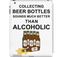 Beer bottles iPad Case/Skin