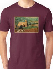 Tuscany Vintage Travel T-shirt Unisex T-Shirt