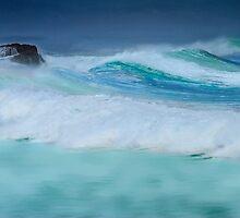 Wild Ocean by Angelika  Vogel