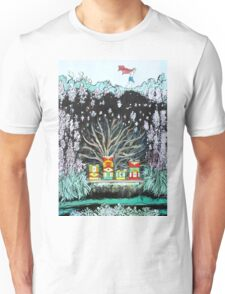 CHILD,NATURE and BEEHIVES Unisex T-Shirt