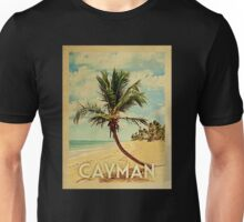 Cayman Islands Vintage Travel T-shirt - Beach Unisex T-Shirt