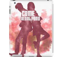 Come along, Pond iPad Case/Skin