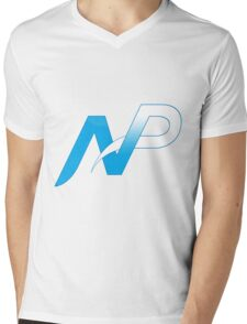 Team NP Logo Mens V-Neck T-Shirt