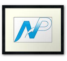 Team NP Logo Framed Print
