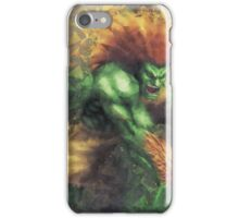 Street Fighter 2 - Blanka iPhone Case/Skin