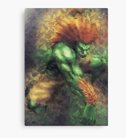 Street Fighter 2 - Blanka Canvas Print