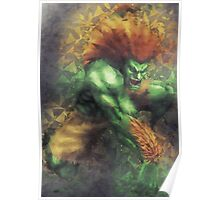 Street Fighter 2 - Blanka Poster