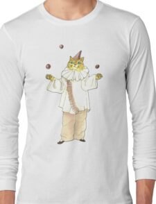 Clown Cat Long Sleeve T-Shirt
