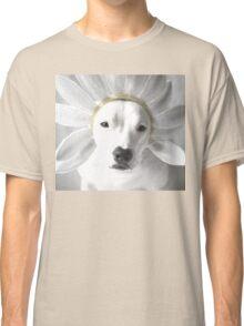 Pittie Flower Classic T-Shirt