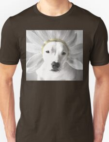 Pittie Flower Unisex T-Shirt